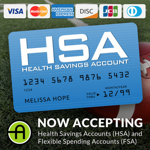 We Now Accept HSA and FSA Payment Cards